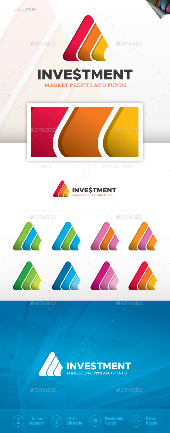 Investment Logo - Company Logo Templates