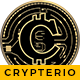 Crypterio - Bitcoin, ICO and Cryptocurrency WordPress Theme