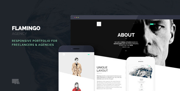 Flamingo - Agency & Freelance Portfolio Theme for WordPress