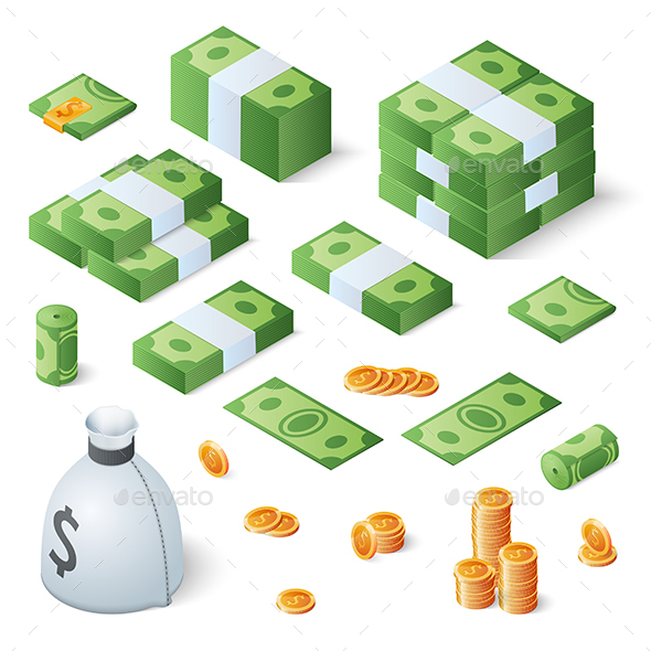 Money Set - Business Conceptual