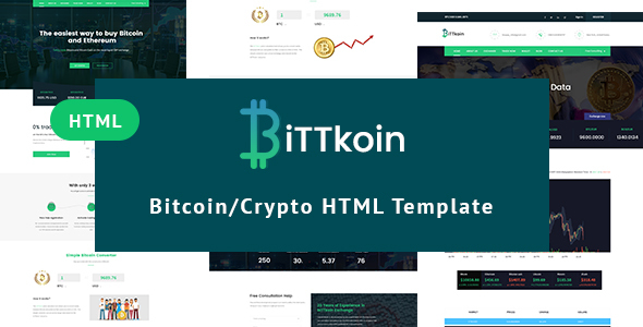 BittKoin - Crypto Currency HTML Template