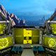 Futuristic Space Ship - VideoHive Item for Sale