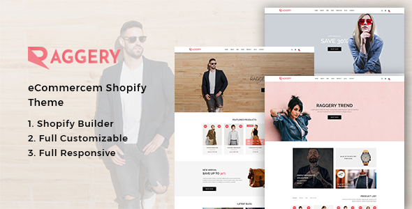 ThemeForest Raggery Fashion Shopify Theme 21179423