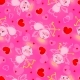 Valentines Day Day Seamless Texture with Lovely