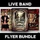 Live Band Flyer Bundle V1 - GraphicRiver Item for Sale