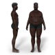 Weight Loss/Gain - Black Male - VideoHive Item for Sale