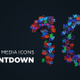 Social Media Icons Countdown - VideoHive Item for Sale