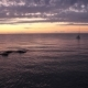 Orange Sunrise with Sailboat - VideoHive Item for Sale
