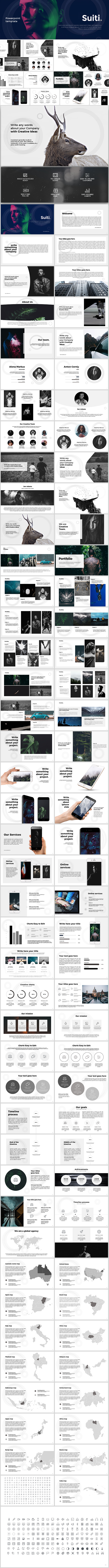 Suiti Powerpoint Template - PowerPoint Templates Presentation Templates