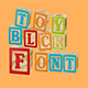 Toy Block Font - GraphicRiver Item for Sale