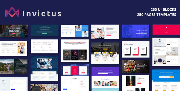 Invictus - Creative MultiPurpose WordPress Theme