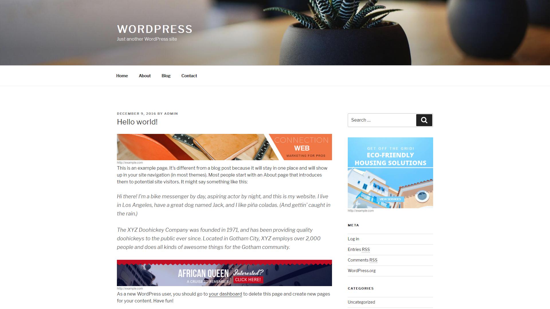 Aparg Smartad WordPress ad management plugin