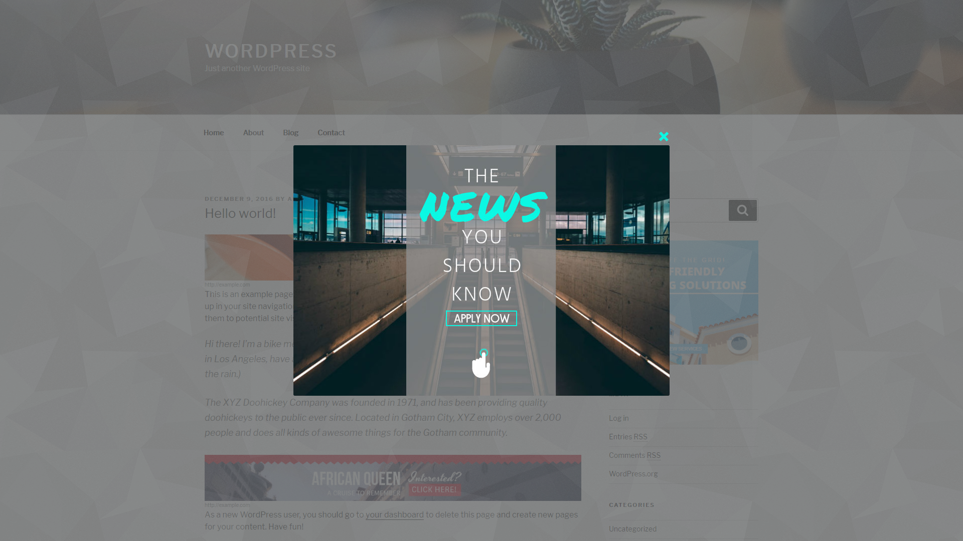 Aparg SmartAd - WordPress Ad Management Plugin by Aparg ...