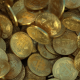 Falling Bitcoins Background - VideoHive Item for Sale