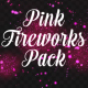 Firework Pink Particles Pack