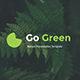 Go Green Google Slides - GraphicRiver Item for Sale