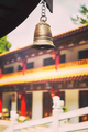Color toned picture of a temple bell, China. - PhotoDune Item for Sale