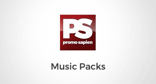 Promo Sapien Music Packs