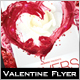 Lovers Spark Valentine Flyer