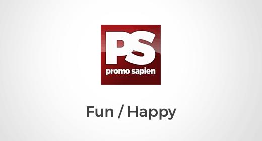 Promo Sapien Happy, Positive, Fun