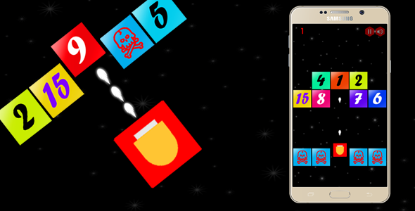 Fire Up !! Blocks Shooter - Android - CodeCanyon Item for Sale