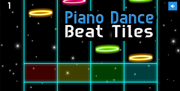 Piano Dance Beat Tiles - BBDOC iOS and Android - CodeCanyon Item for Sale