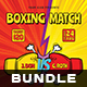 Boxing Flyer Bundle