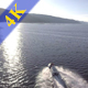 Couple on Jet Sky in Big Dam - VideoHive Item for Sale