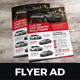 Automotive Car Sale Rental Flyer Ad v3 - GraphicRiver Item for Sale