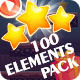 Game Interface Pack 100 Elements - GraphicRiver Item for Sale