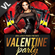 Valentine Party Poster / Flyer V01 - GraphicRiver Item for Sale