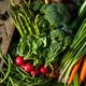 Raw Organic Spring Farmers Market Box - PhotoDune Item for Sale
