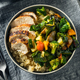 Healthy Chicken and Quinoa Bowl - PhotoDune Item for Sale