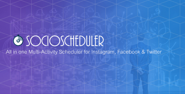 CodeCanyon SocioScheduler All in one Multi-Activity Scheduler for Instagram Facebook & Twitter 21251846