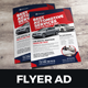Automotive Car Sale Rental Flyer Ad v4 - GraphicRiver Item for Sale