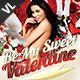 Be My Valentine Flyer V01 - GraphicRiver Item for Sale