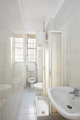 Old bathroom interior with tiled floor and walls - PhotoDune Item for Sale