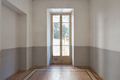 Empty room interior with old window and tiled floor - PhotoDune Item for Sale
