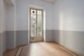 Empty room interior with tiled floor and old window with balcony - PhotoDune Item for Sale