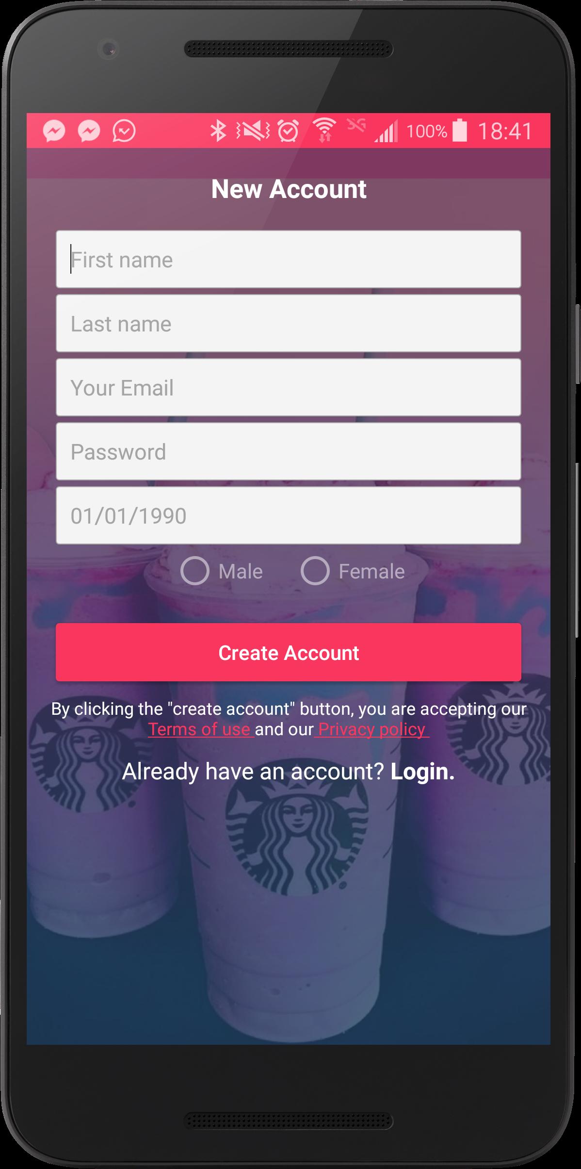 Dating app firebase