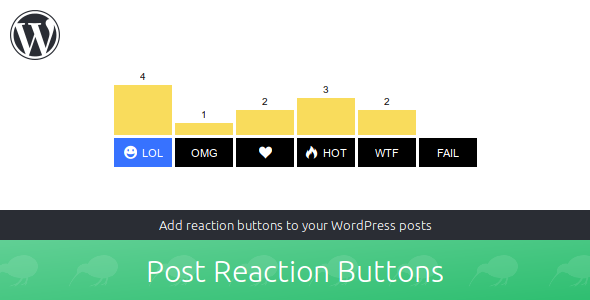 Post Reaction Buttons - CodeCanyon Item for Sale