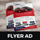 Automotive Car Sale Rental Flyer Ad v5 - GraphicRiver Item for Sale