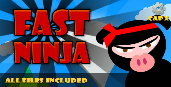 Fast Ninja (CAPX & HTML) + Admobs, Game! - CodeCanyon Item for Sale
