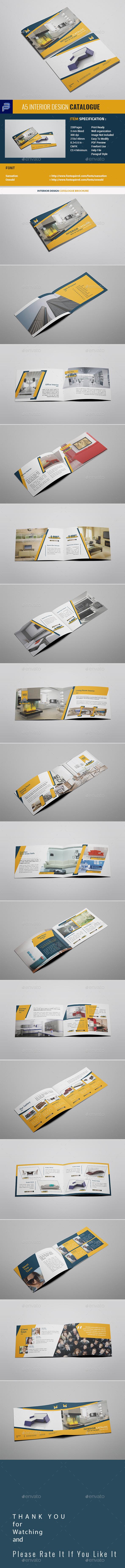 A5 Interior Design Catalogue Brochure - Catalogs Brochures