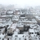 Snow Storm in Old Europe City - VideoHive Item for Sale
