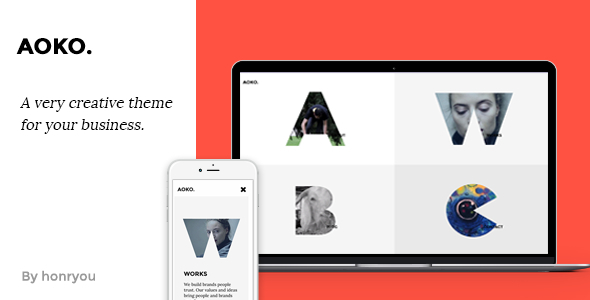 Image of Aoko - Creative HTML Template
