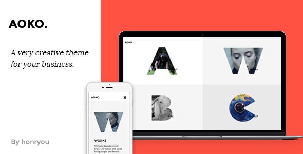 Aoko - Creative HTML Template