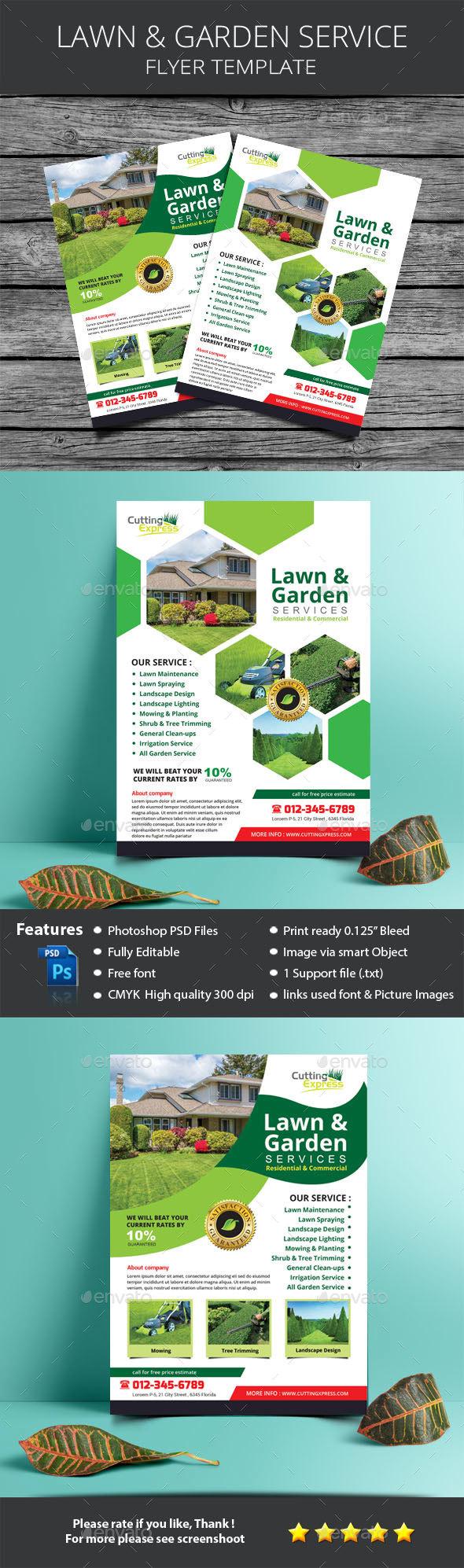 Lawn & Garden Services - Commerce Flyers