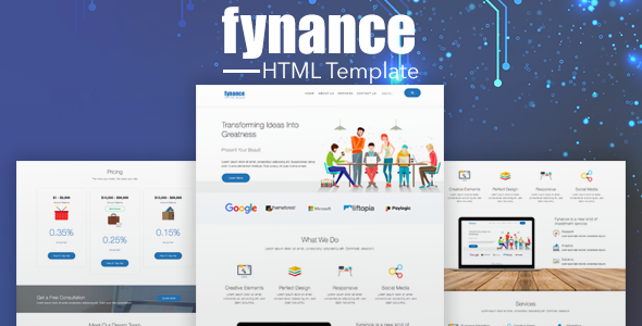 ThemeForest Fynance Online Finance HTML5 Template 21188465