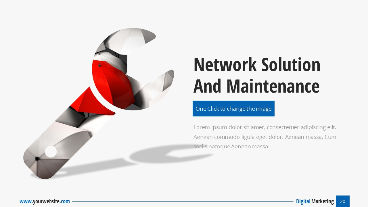 digital marketing - business presentationspriteit | graphicriver, Powerpoint templates